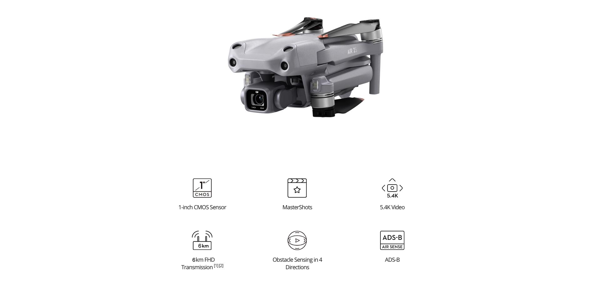 DJI Air 2S - Main Features