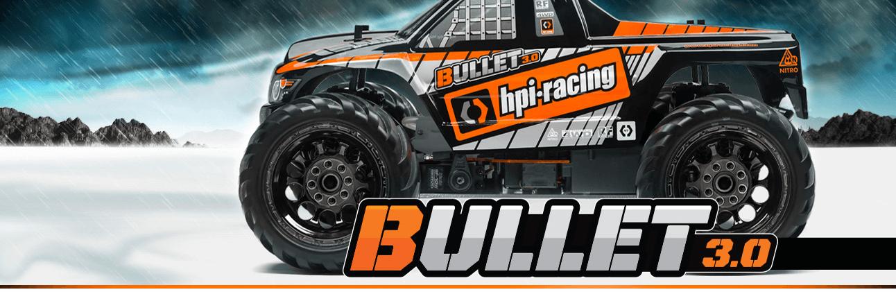 HPI Bullet MT 3.0 - RC BilNitro