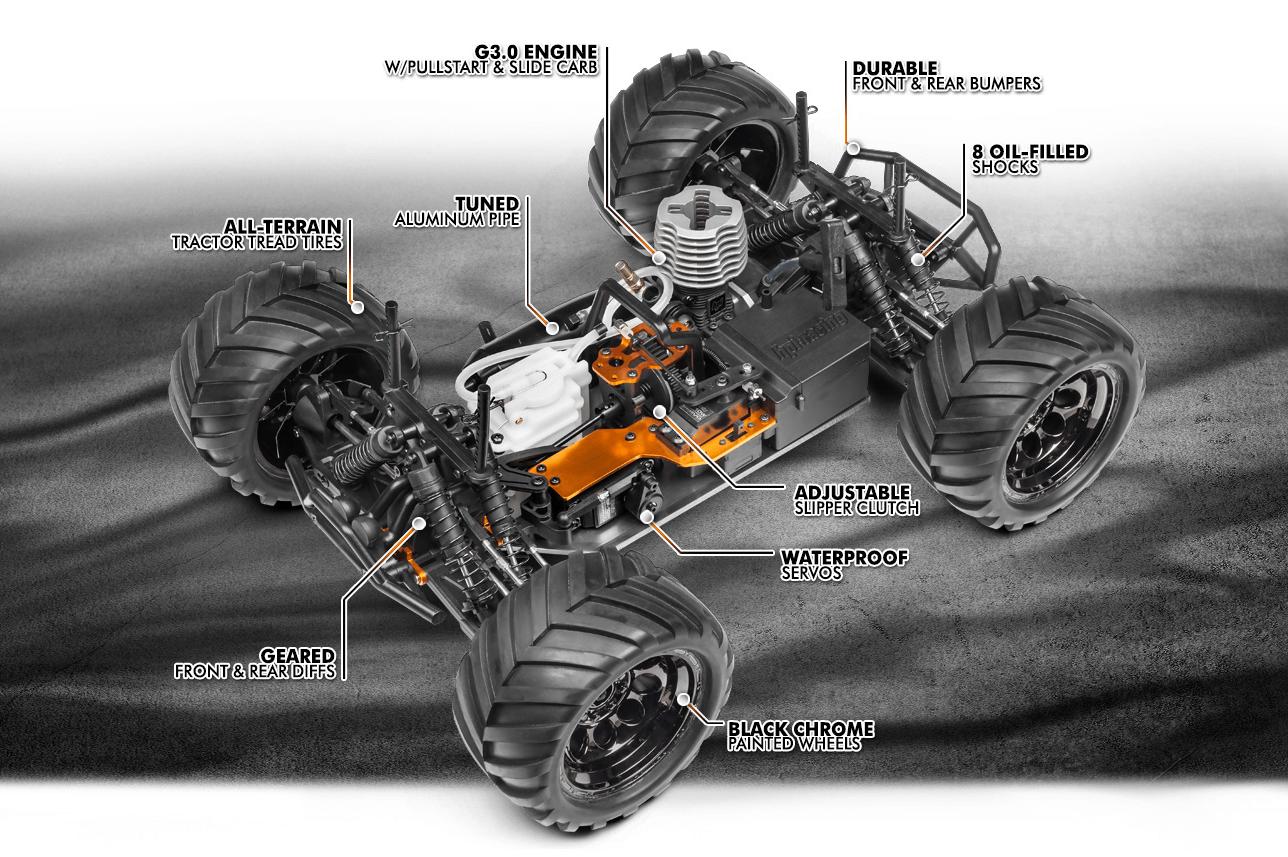HPI Racing Bullet MT 3.0