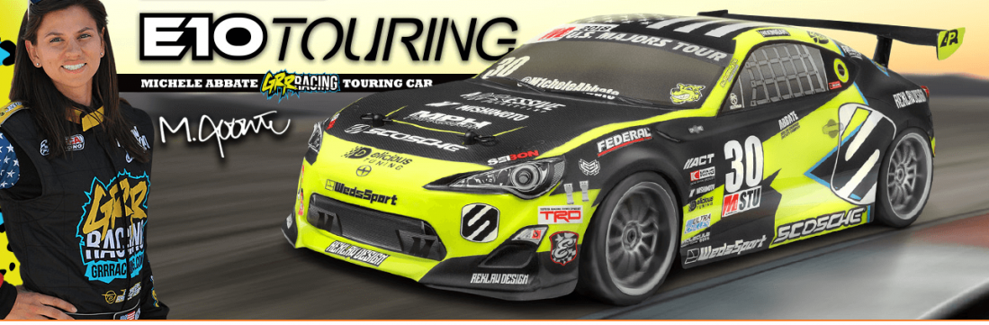 Fjernstyret bil | HPI Racing E10 Michele AbbateGRRRacing Touring Car