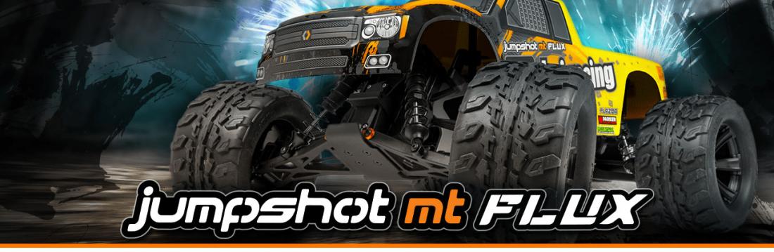 HPI RacingJumpshot MT Flux -Fjernstyret bil