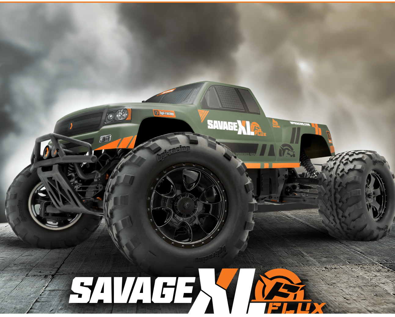 HPI Racing Savage XL Flux GTXL-1 - Fjernstyret bil