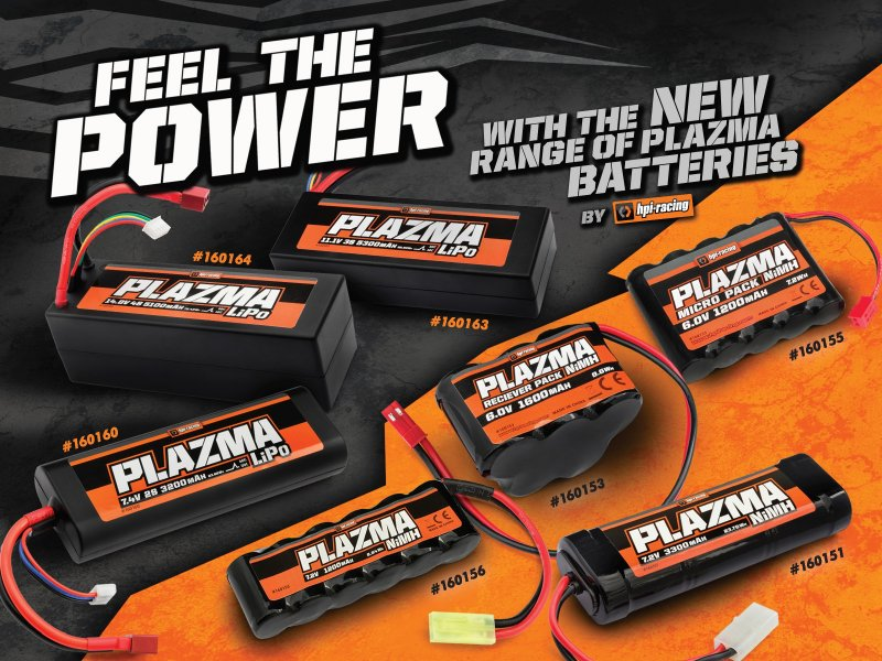 HPI Racing Plazma batterier!