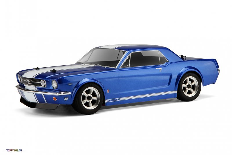 Ford 1966 Mustang Gt Coupe Body (200mm) (Clear)