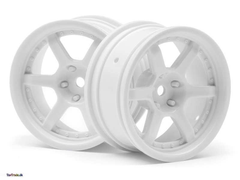 Hre C106 Wheel 26mm White (6mm Offset/2Pcs)