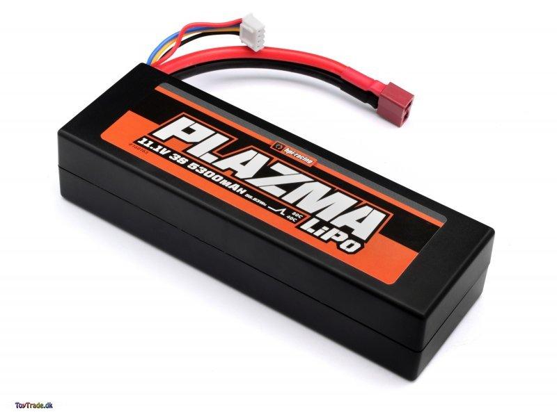 LiPo batteri 11.1V 5300mAh 40C 58.83Wh - HPI Plazma