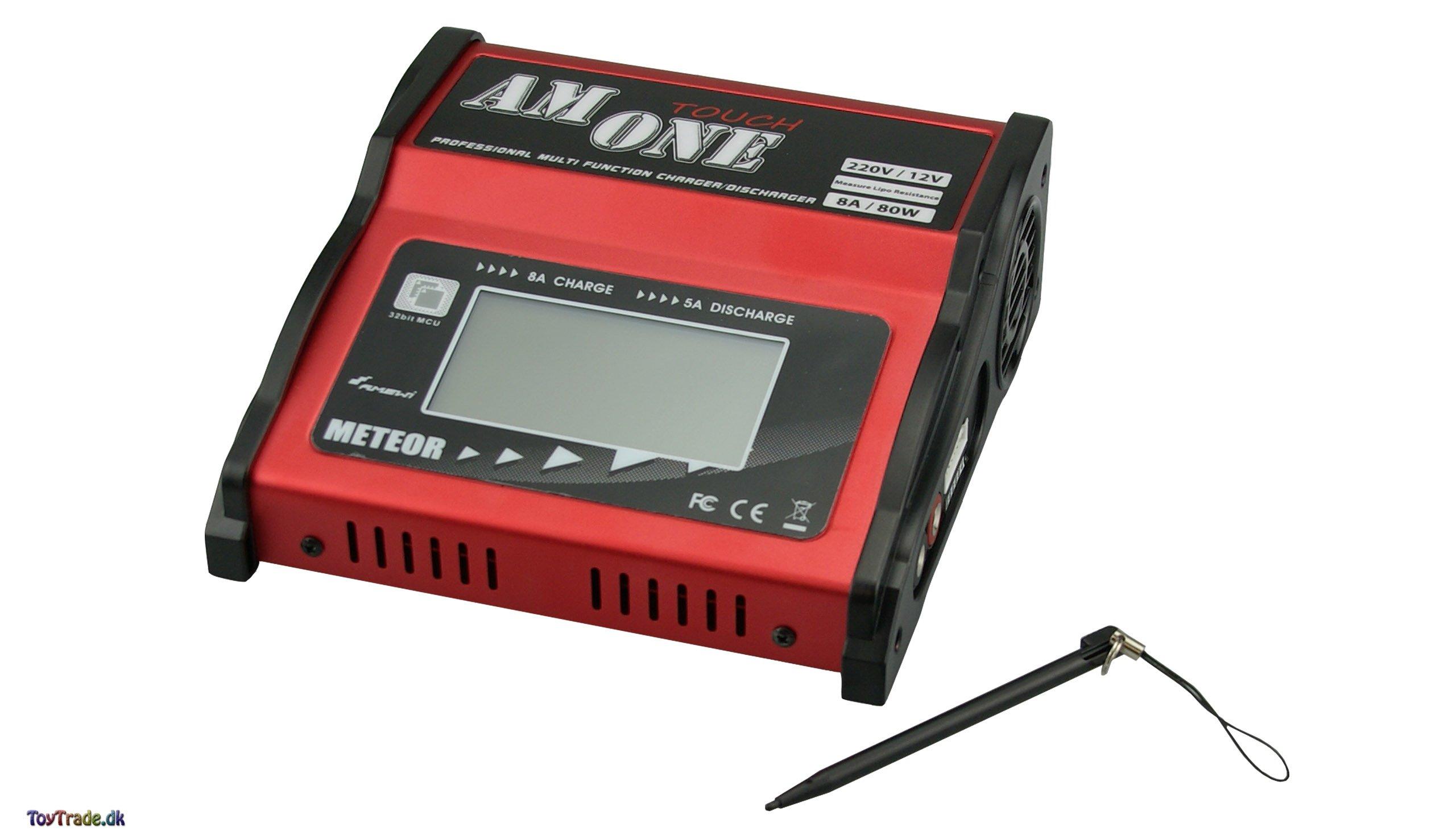 Meteor Batterilader AM One Touch 80W - Oplader