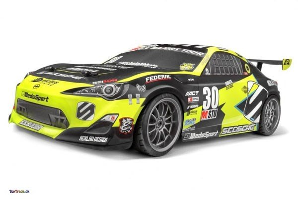 Fjernstyret bil HPI Racing E10 Michele Abbate