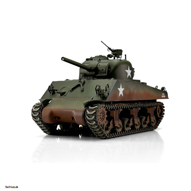 M4A3 Sherman 75mm - Pro-Edition BB - Fjernstyret kampvogn