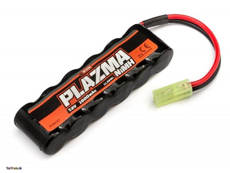 NiMH batteri mini 7.2V 1600mAh 11.52Wh - HPI Plazma