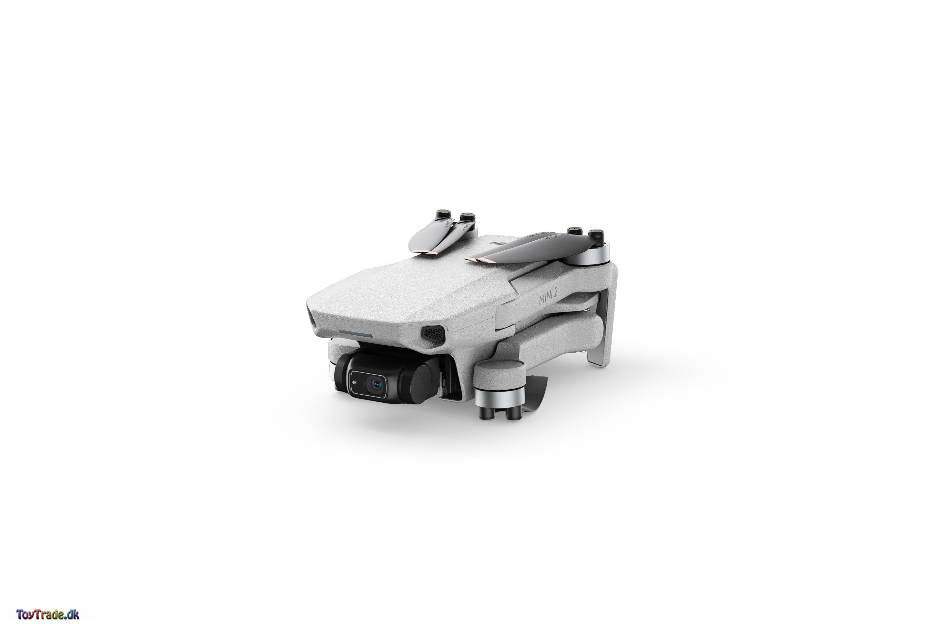 DJI Mini 2 Drone + gratis 64GB micro-SD-kort fra Sandisk