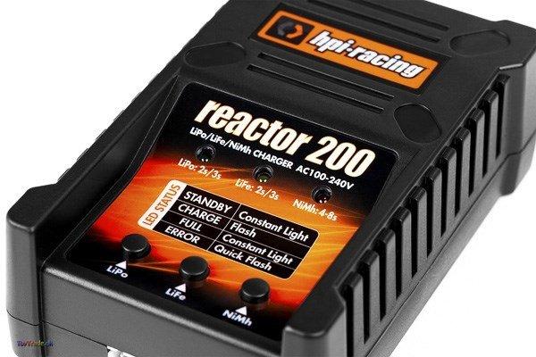 HPI Racing Reactor 200 Batterilader - Oplader (EU)
